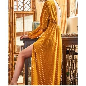 4ac3e7c76e5 Dresses   Skirts - Polka Dots Maxi Dress